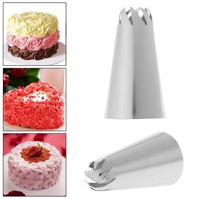 Stainless Steel Flower Icing Piping Nozzles Cake Tips Baking Tools Decoration