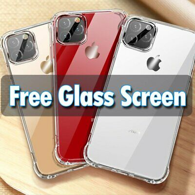 For Apple iPhone 11 XS Max XR 8 7 Slim Case Cover Skin +Screen Protector