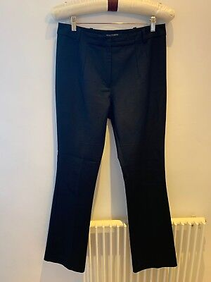 French Connection Black Boot Cut Trousers Size 14