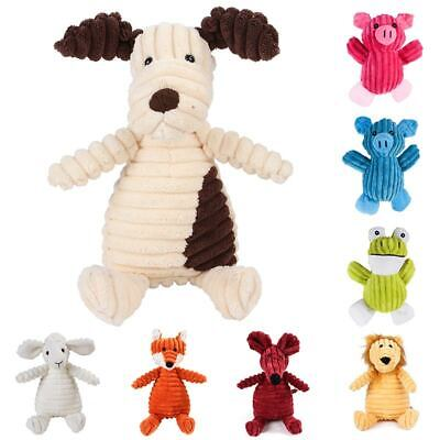 NEW Dog Toy Chew Toys 1PC Plush Toy Squeaky Toys Bite Resistant Cleaning Teeth