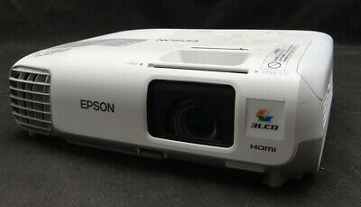 Epson EB-X20 XGA/HDMI LCD Projector - Projects Good Image - Lamp 2687 hrs