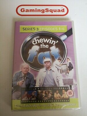 Chewin the Fat Series 3 NEW DVD, Supplied by Gaming Squad