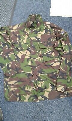Job lot of 13 X BRAND NEW BRITSH MILITARY DPM SHIRTS - Various sizes