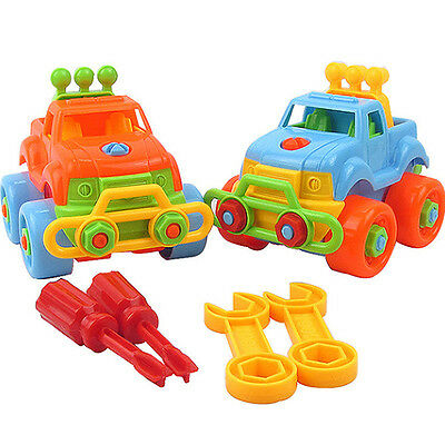 Nice Christmas Gift Kids Child Baby Boy Disassembly Assembly Classic Car Toy SK