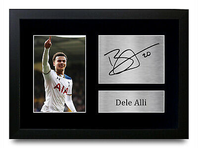 Dele Alli Signed Pre Printed Autograph Photo Gift For a Tottenham Hotspurs Fan