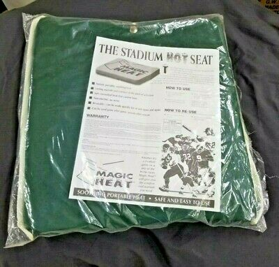 The Stadium Hot Seat - Reusable Large Portable Instant Heat Pack w/ Seat Pad NEW