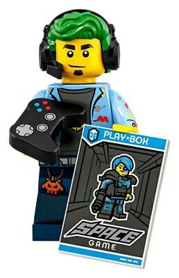 LEGO Minifigures Series 19 Video Gamer Guy 71025 NEW COMPLETE PACKET