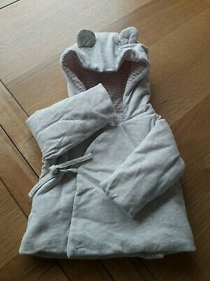 Next baby cotton padded jacket hoodie 0-3 mths