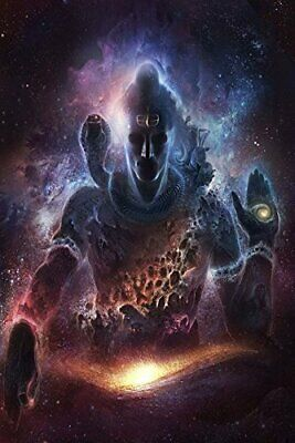 Lord Shiva Poster Wall Decoration Living Room Paper Poster Art Interior Gift