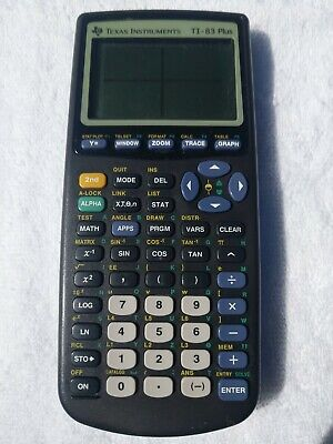Texas Instruments TI-83 Plus Graphing Calculator - Tested - Free Shipping
