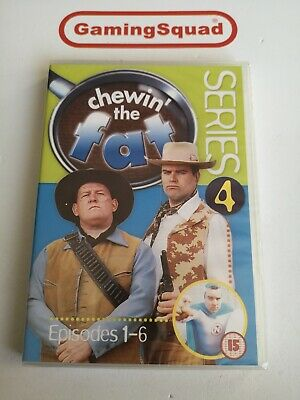 Chewin the Fat Series 4 NEW DVD, Supplied by Gaming Squad