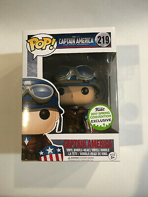 Funko POP Captain America WWII #219 ECCC 2017 Funko Spring Convention Exclusive