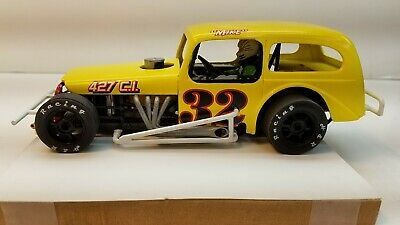 AMT, 1/25 Scale 1935 Chevy Modified kit, converted to slot car