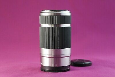 MINT Sony E 55-210mm f/4.5-6.3 OSS -SILVER-  SONY E MOUNT LENS 1353C