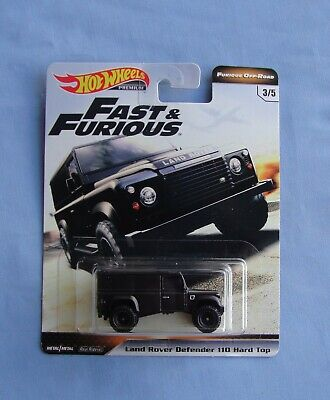 2019 Hot Wheels Fast & Furious, Furious Off-Road, Land Rover Defender 110