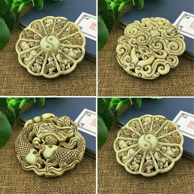 Saitama Antique Pendant Chinese Antique Hand-carved Pendant Collection Gift