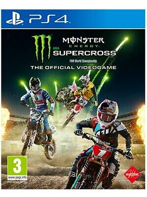 Milestone Videogioco per PS4 Monster Energy Supercross Sport 3+ 1024995
