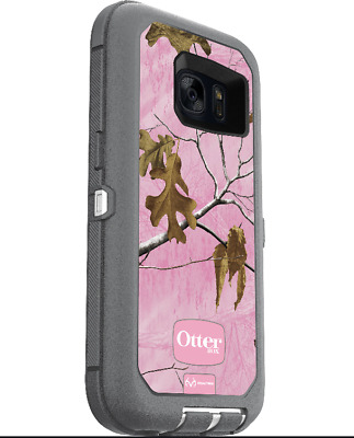 OtterBox Defender Series Protective Case for Samsung Galaxy S7 RealTree Pink
