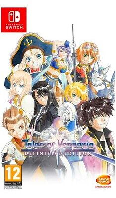 Namco Bandai Tales Of Vesperia Definitive Edition RPG 12+ Switch 113054