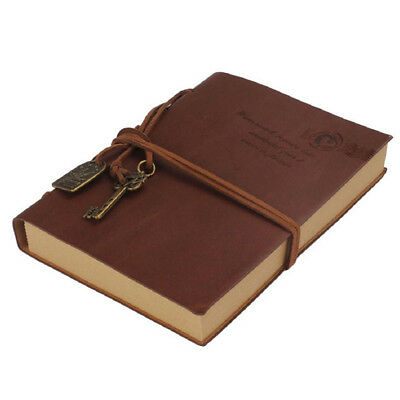 Classic Retro Vintage Style Leather Journal Travel Notepad Notebook Blank Diary