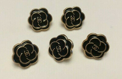 Chanel small buttons, set of 5 lot
