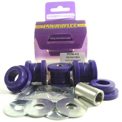 VW Bora Mk4 (1J) 98-05 POWERFLEX FRONT ANTI ROLL BAR ENDLINK BUSHES KIT