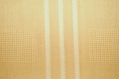 """Vintage linen tablecloth yellow color made in Germany 64x51"""""""