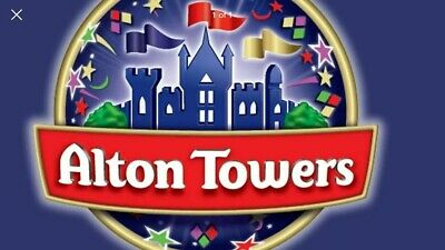 2 X ALTON TOWERS TICKETS FOR THURSDAY 26th SEPTEMBER 2019 EMAIL TICKET