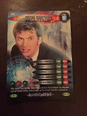 Dr Who BIT Card 10th Doctor 24/100