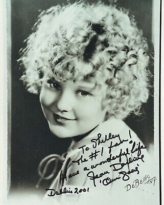 Orig Press Photo Our Gang Rascals Signed Jean Darling 8X10