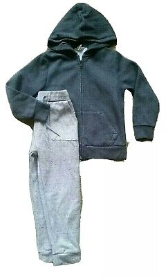 Boys Next and H&M Grey Jogger And Hooded Jumper 5-6 Years