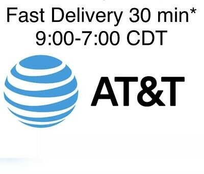 Lot 2X Two AT&T | ATT | Phone Numbers for Port | Any Area Codes Numbers to Port