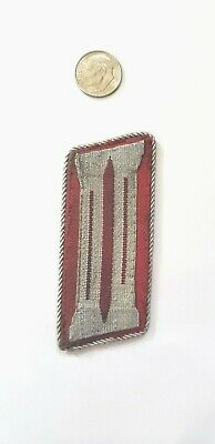 Original WW2 German Fire Police Officer's Collar Tab Brought Home By US Vet