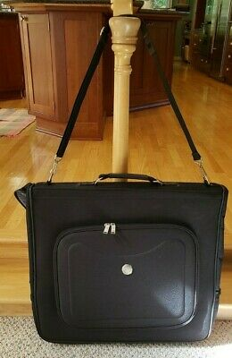 "Travelers Club Luggage Black 45"" Garment Bag w/Adjust Strap Adventurer II *NEW*"