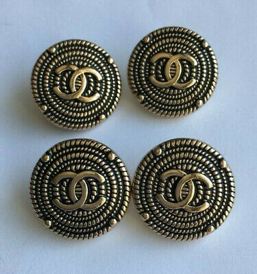 4 Chanel buttons, 17mm