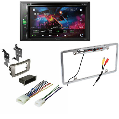 Pioneer AVH-210EX In-Dash DVD/CD Receiver bundle for Toyota Camry 2007-2011
