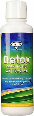 Detox With MSM, Oxylife Products, 16 oz