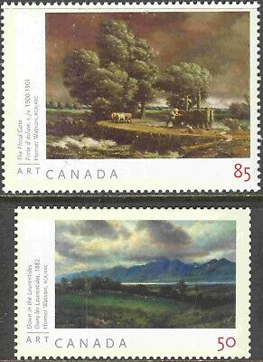 2005 Canada #2109a-10a Mint NH Set of 2 Art Stamps from Souvenir Sheet
