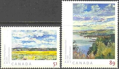 2005-6 Canada #2147a-8a Mint NH Set of 2 Art Stamps from Souvenir Sheet