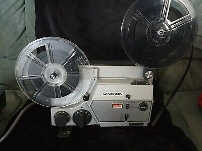 Cinekon Instduo Movie Film Projector  - Super 8 and standard 8mm