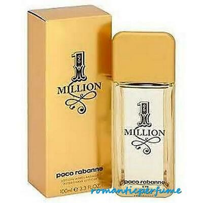 ONE MILLION by PACO RABANNE 3.3 oz / 3.4 oz ( 100 ml ) AFTER SHAVE LOTION MEN