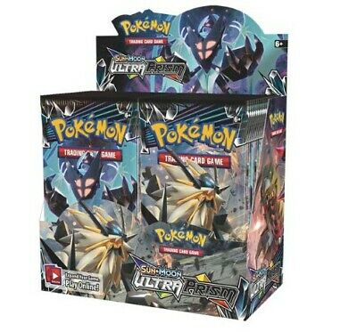 Pokemon TCG Sun & Moon Ultra Prism 36 Pack Booster Box FACTORY SEALED