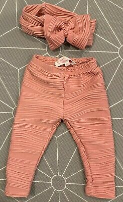 La Sienna Couture Dusty Rose Leggings 00 Baby Girl