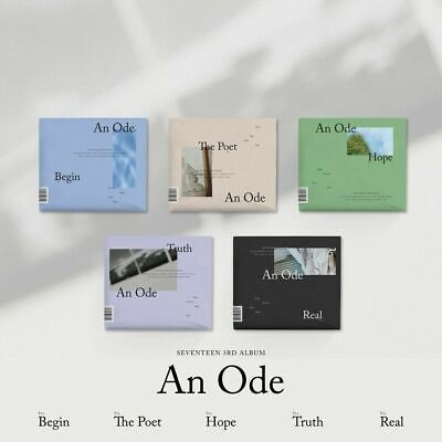 SEVENTEEN - An Ode (3rd) CD+Photocards+PO Benefit+folded Poster+Free Gift+Tracki