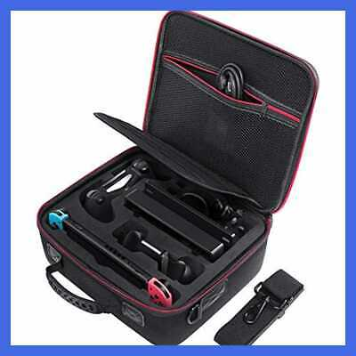 Carrying Storage Case For Nintendo Switch Deluxe All Protective Hard Travel Carr