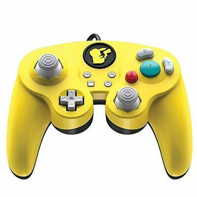 Nintendo Switch Pokemon Pikachu GameCube Style Wired Fight Pad Pro Controller by