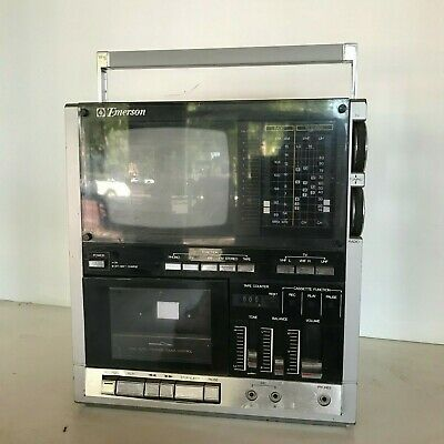 Vintage Emerson Portable TV Stereo