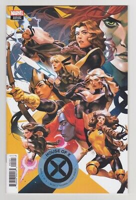 House of X 2 Putri Connecting Variant Cover X-Men 2019 Marvel Comics-SCANS