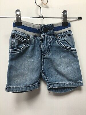 Country Road Boys Denim Shorts Size 6-12 Months