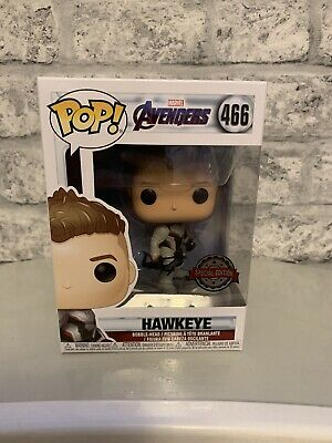 Funko Pop Vinyl - Hawkeye  #466 Exclusive Limited Edition Avengers Endgame *NEW*